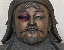Genghis Khan print